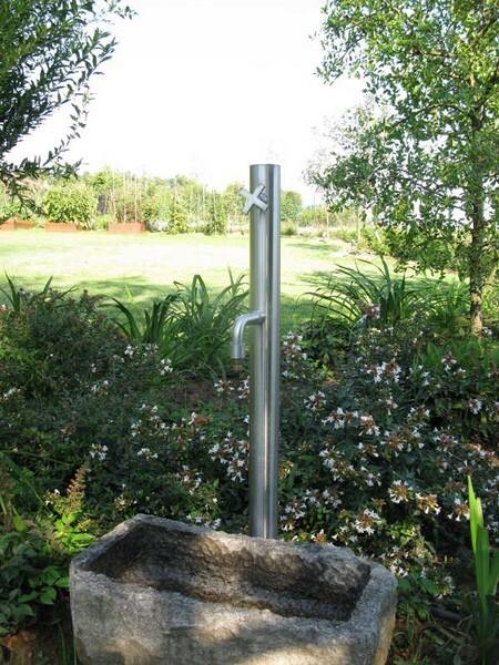 Colonna Acqua Giardino.Stilo Outdoor Small Columns In Stainless Steel 316l For