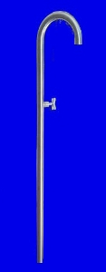 Outdoor shower column Stilo 1""